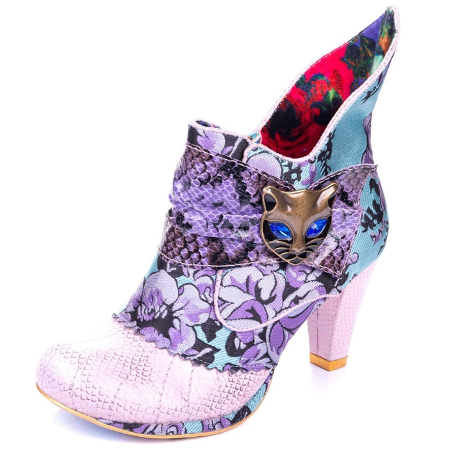 Irregular Choice - Miaow - Pink / Blue