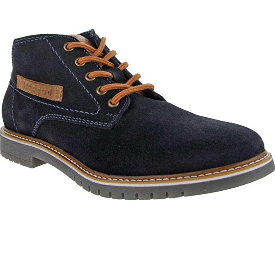 Bugatti - Men's Fashion Brogue - Navy / Tan
