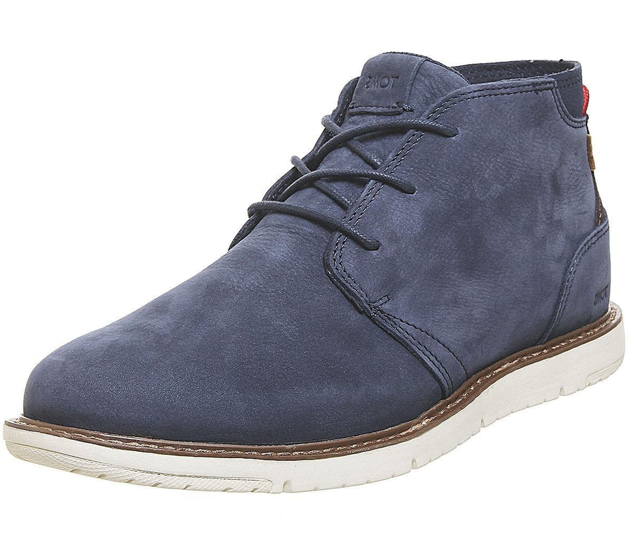 TOMS - Mens - Navi - Navy - Suede - Leather - Chelsea Boots