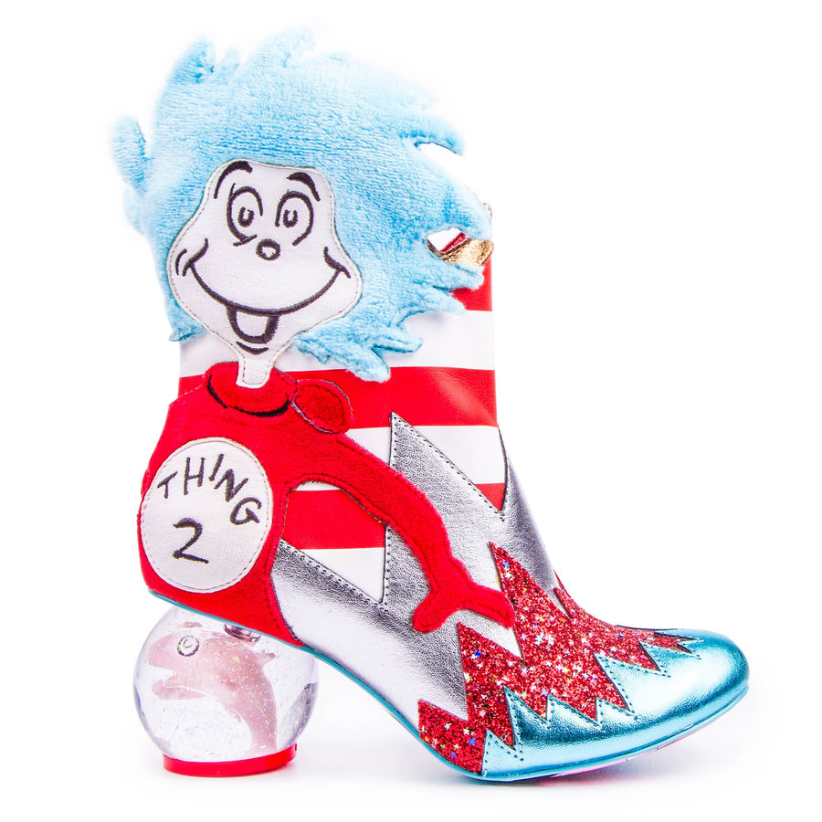 Irregular Choice - Up Up With A Fish - Cat In The Hat
