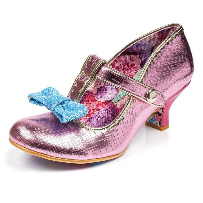 Irregular-Choice-Lazy River-Pink-Multi-Heel