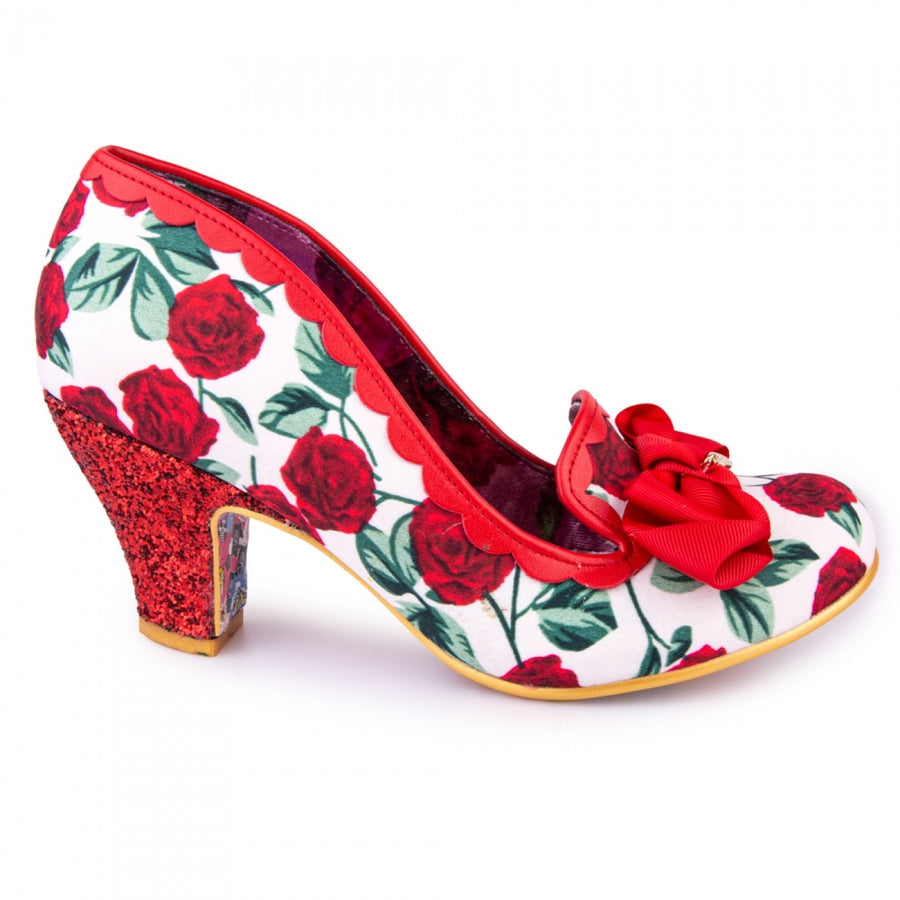 Irregular Choice - Kanjanka High Heels - Red / White