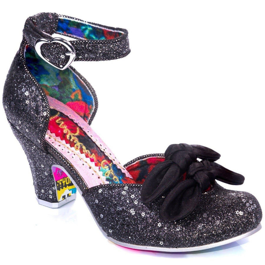 Irregular Choice - Flickety Kiss - Black