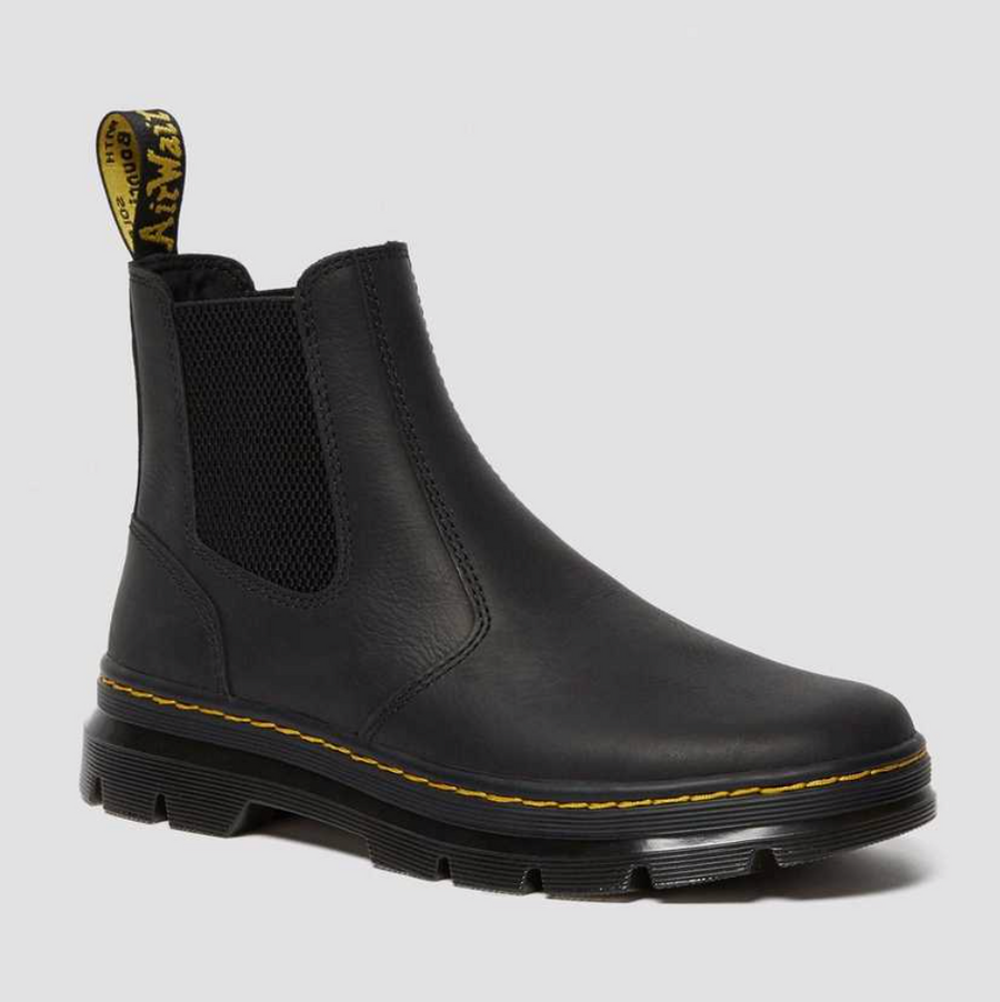 Dr Martens - Wyoming Embury Leather Boots - Black