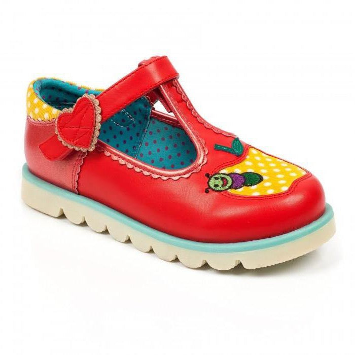 Irregular Choice- Kids -Apple Of My Eye- Red