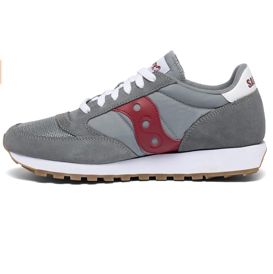 Saucony - Original Men's Jazz Trainer - Grey / Red