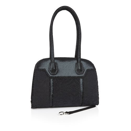 Ruby-Shoo-Montpellier-Black-Velvet-Bag