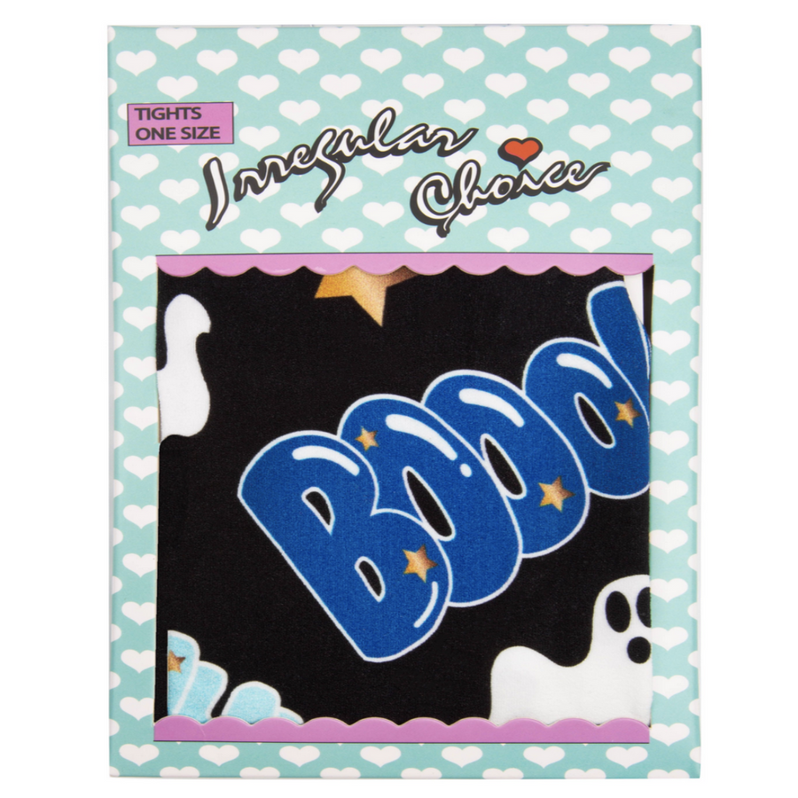 Irregular Choice - Halloween Collection - Ghost Tights