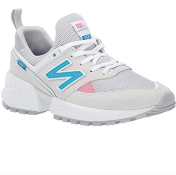 New Balance - Women's 574v2 Trainers - White / Pink / Blue