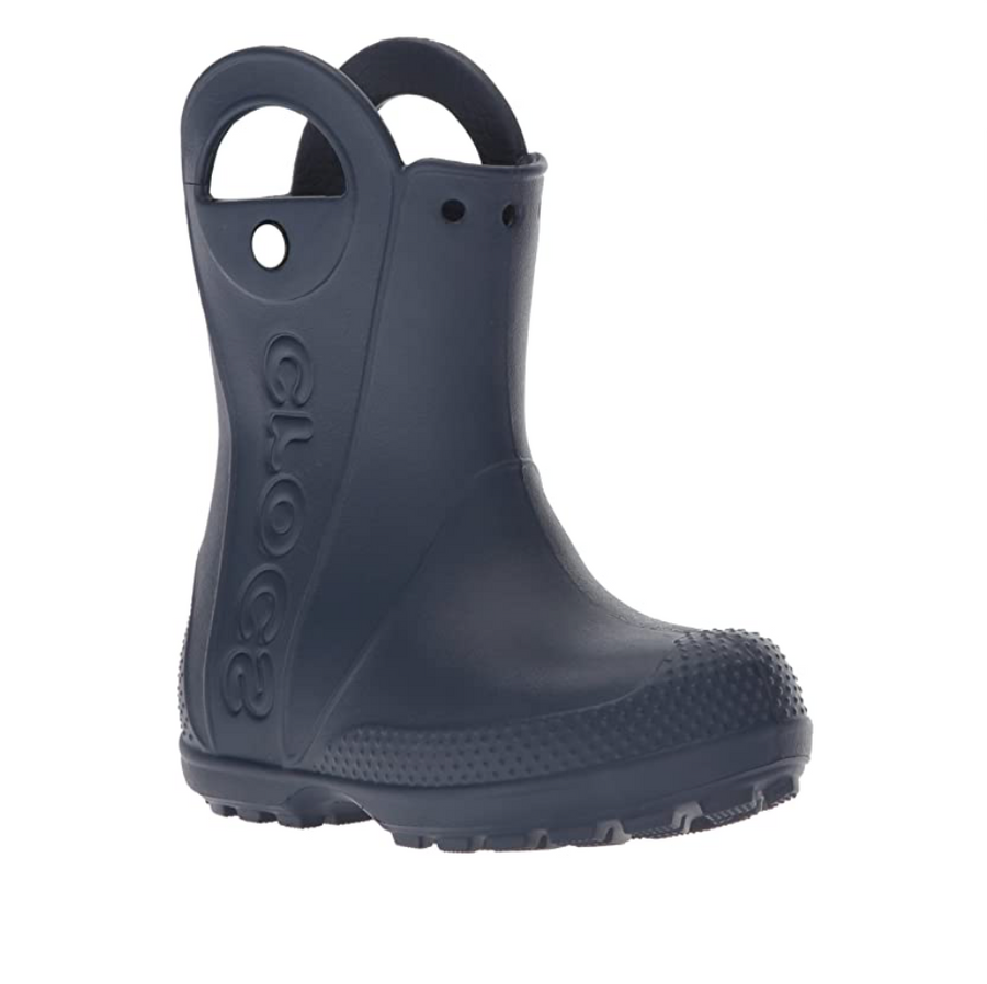 Crocs - Unisex Kid's Handle It Rain Boot - Navy