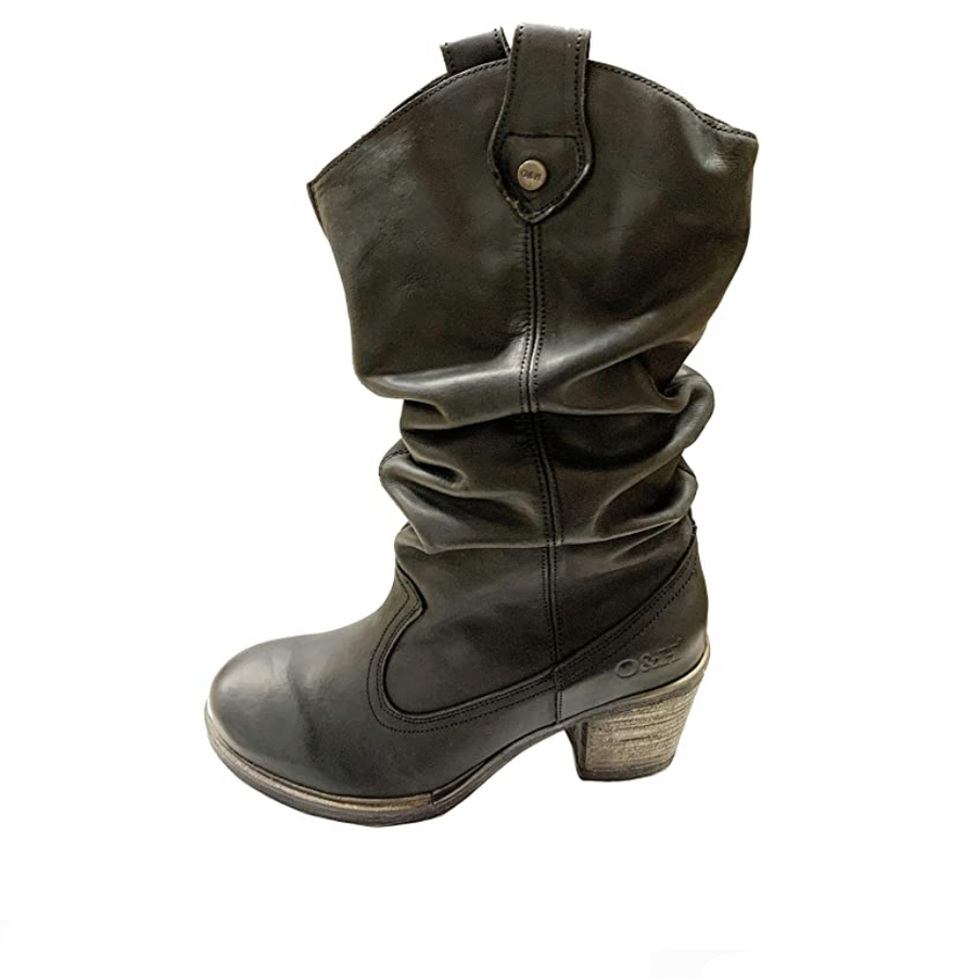 Oak & Hyde - Westwood Mid - Women's Leather Boot - Black