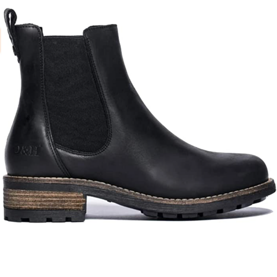 Oak & Hyde - Bridge Chelsea Leather Ankle Boots - Black