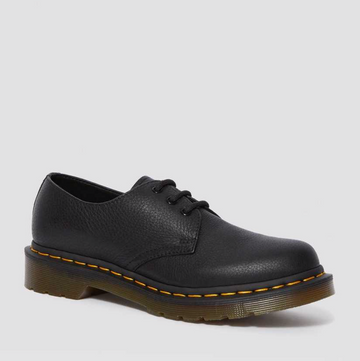 Dr Martens - 1461 Virginia Leather Shoes - Black