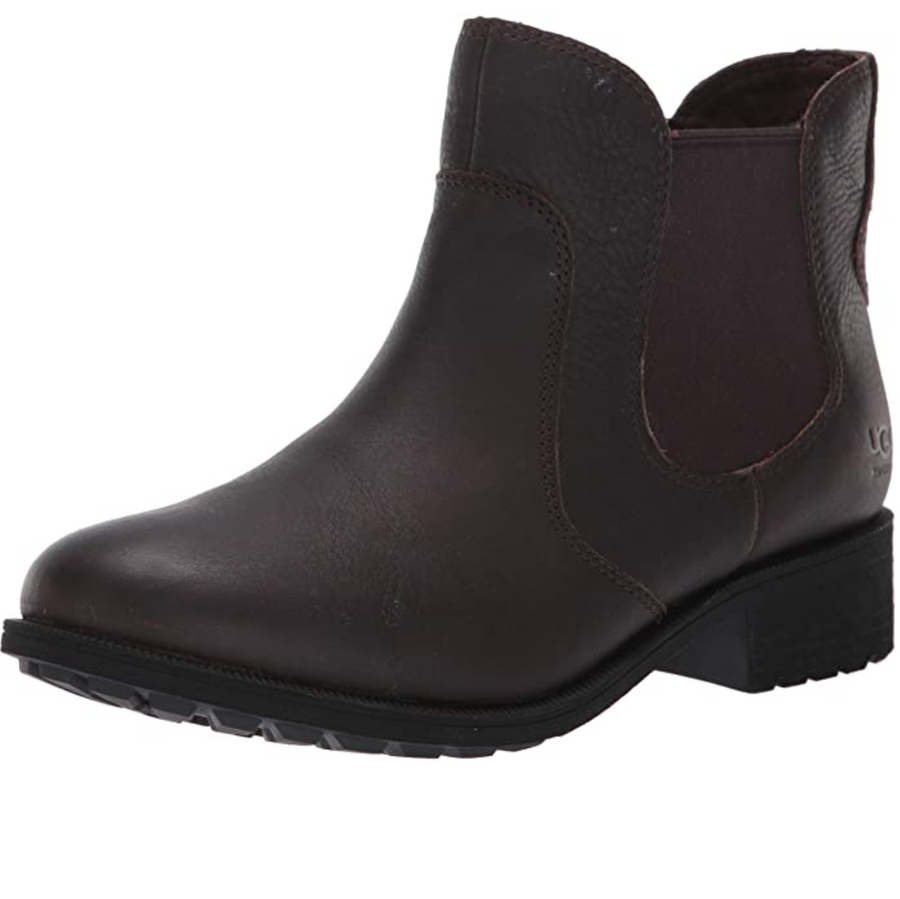 UGG - Women's Leather Bonham Ankle Boot - Stout
