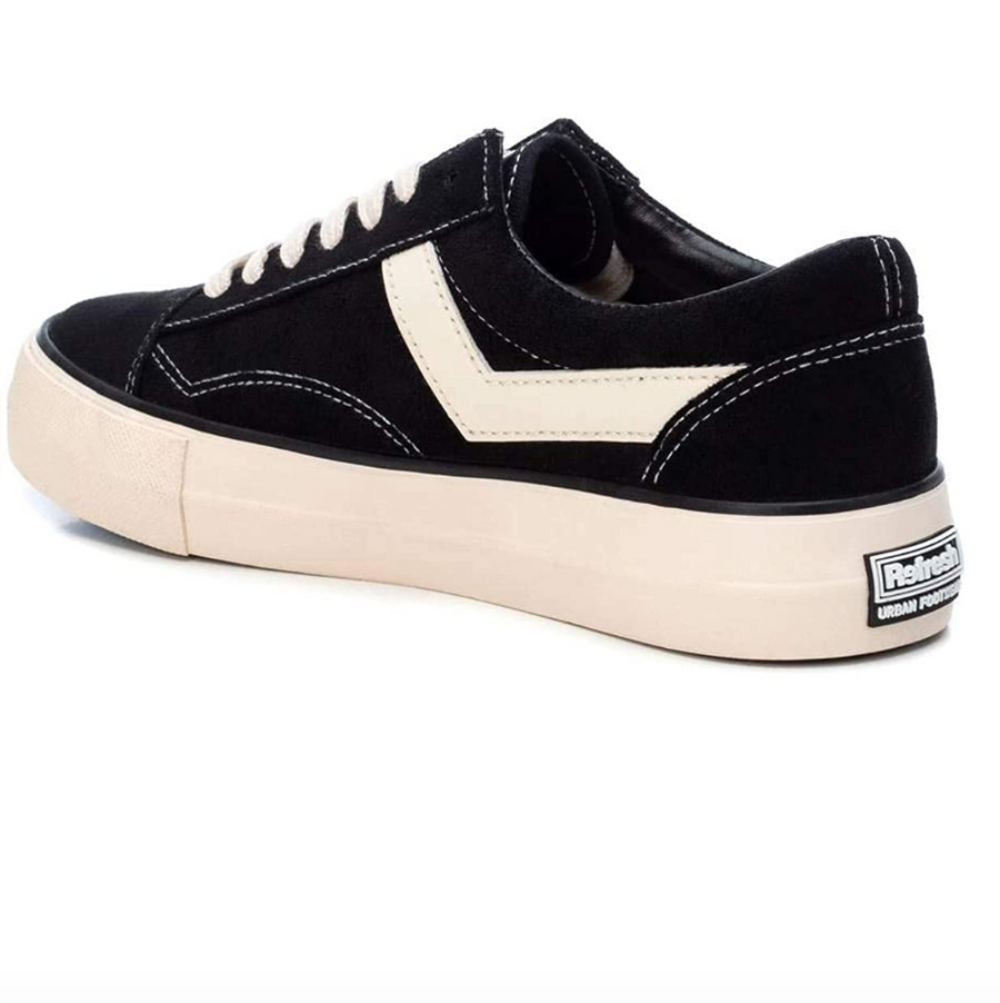 Refresh - 72432 - Women's Sneakers - Black / White