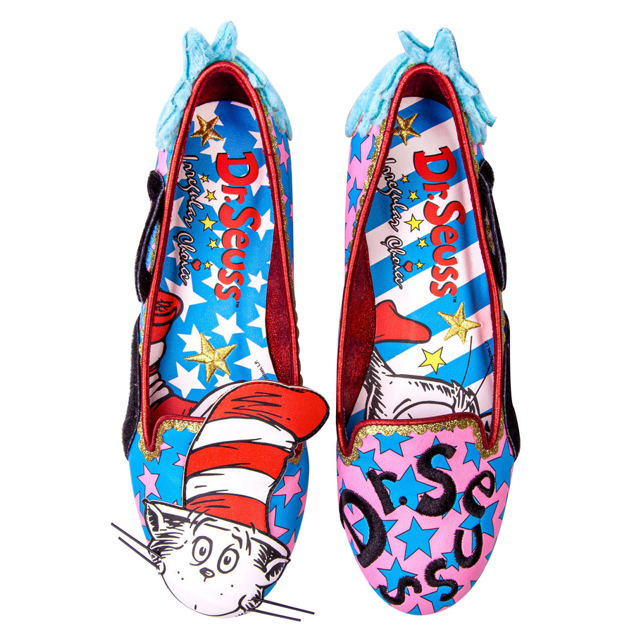 Irregular Choice - Dr Seuss - Cat In The Hat