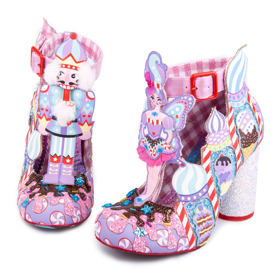 Irregular Choice - Nutcracker Boots - Christmas