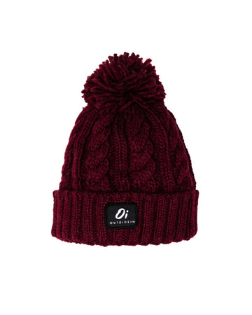 Outside In - Burgundy - Pom Pom