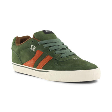 GLOBE - ENCORE 2 -FOREST GREEN - TOBACCO- MENS SHOES