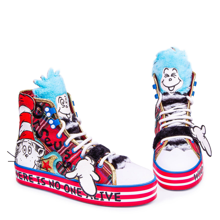 Irregular Choice - You'er Than You - Cat In The Hat