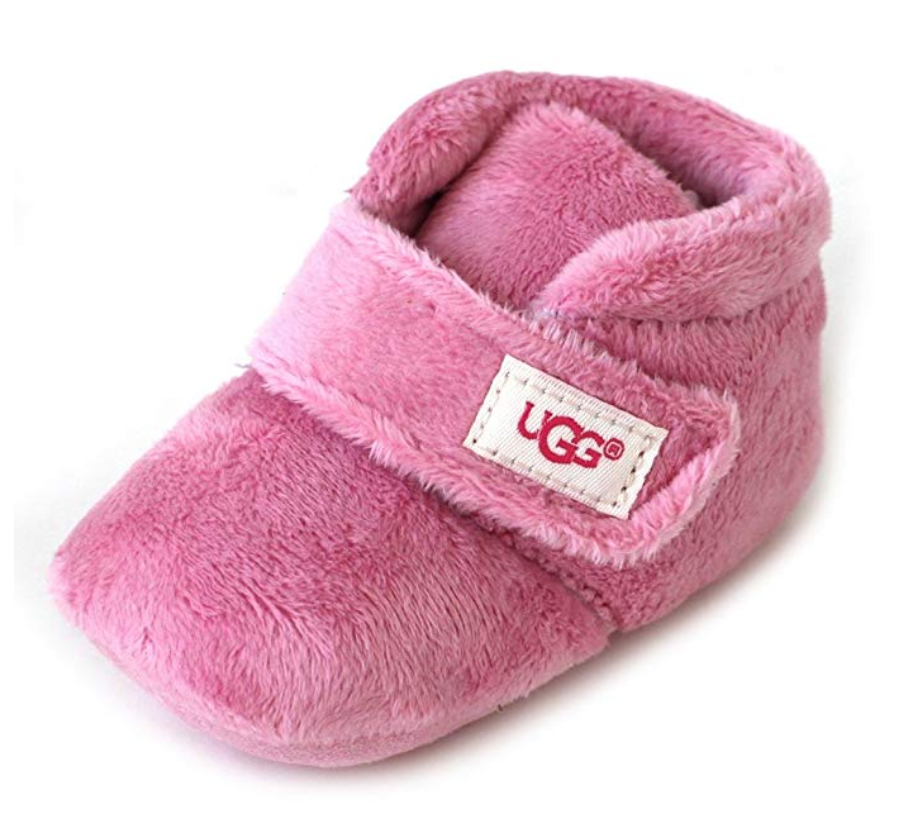 UGG - BIXBEE and Lovey - Bubblegum - Pink - Infant Booties (Includes Matching Comfort Blanket)