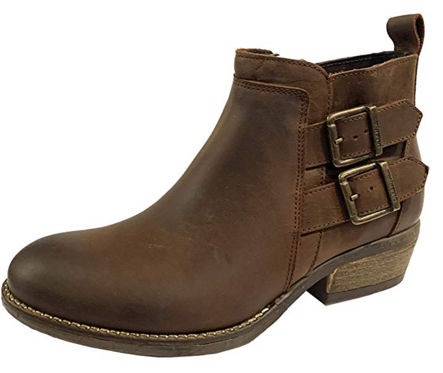 OAK & HYDE - RITA TWIN - BROWN CHELSEA BOOTS