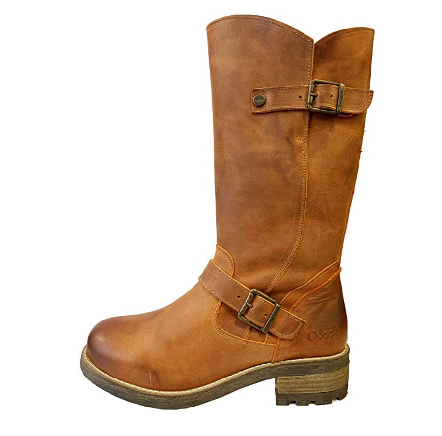 Oak & Hyde - Crest - Burnt Orange - Leather Boots