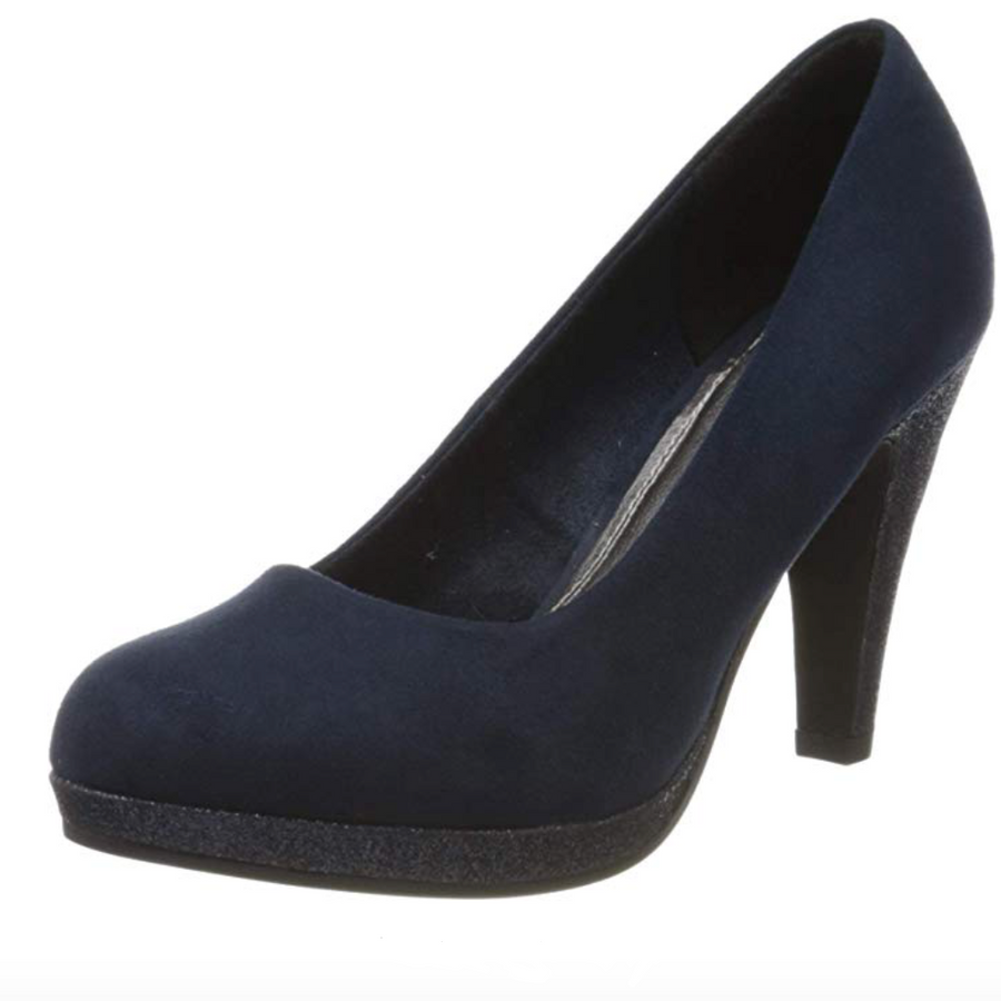 Marco Tozzi - Closed Toe Pumps - Navy