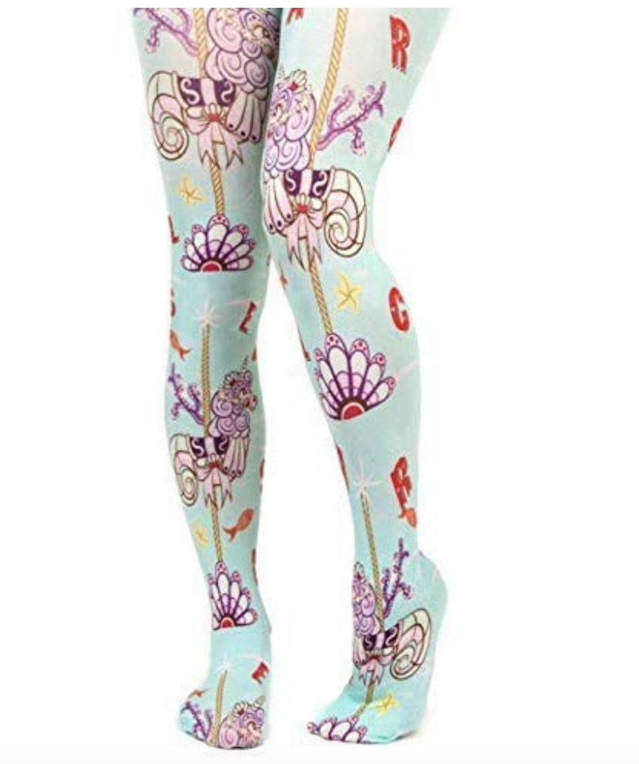 Irregular Choice - Carousel Tights