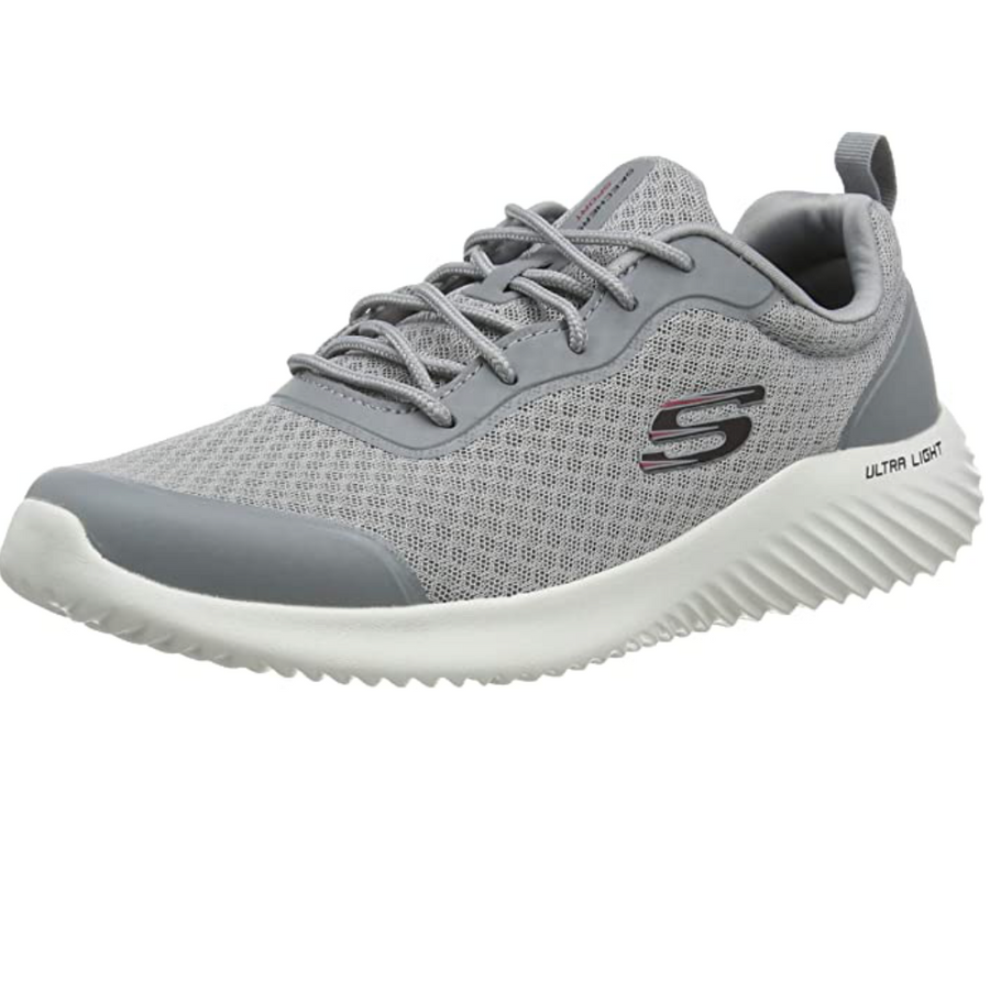 Skechers - Voltis Bounder Trainers Mens - Grey