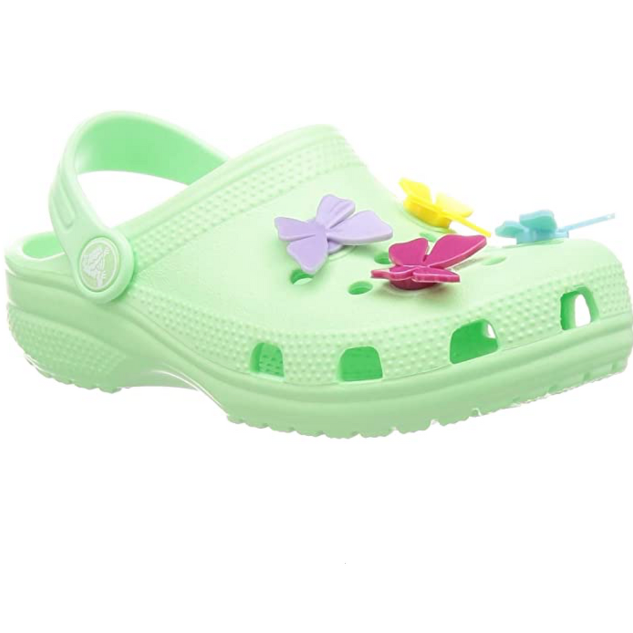 Crocs - Classic Butterfly Charm Clog - Neo Mint