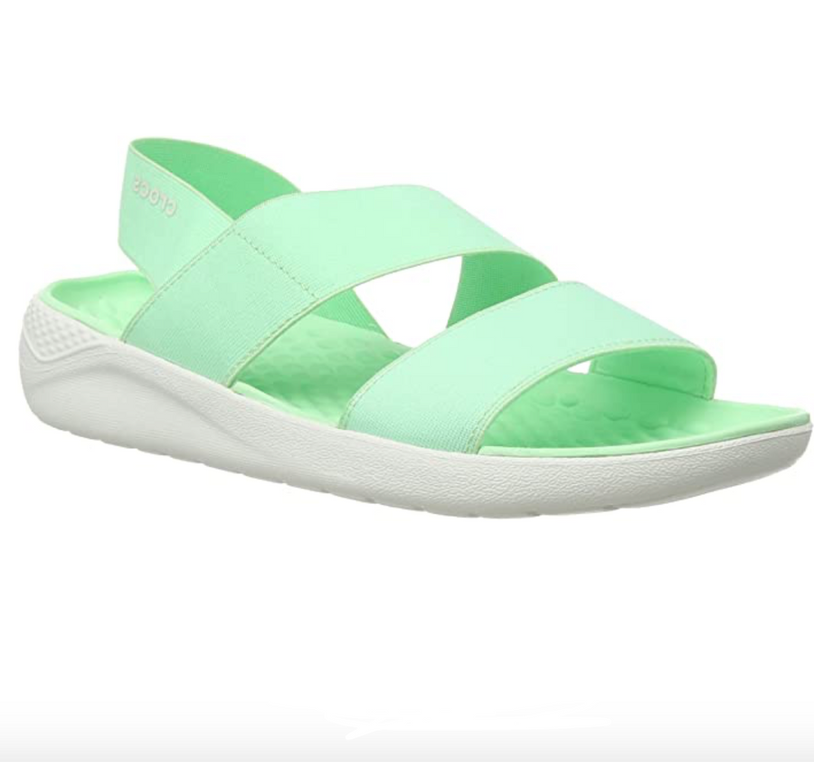 Crocs - Lite Ride Stretch Sandal - Green Neo Mint