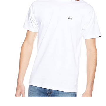 Vans Mens - Left Chest Logo T Shirt - Black / White
