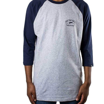 Vans - Raglan Athletic - Long Sleeve - Grey / Navy