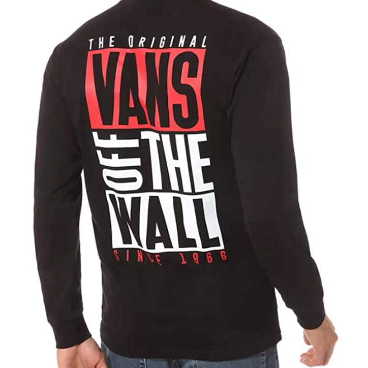 Vans - T Shirt Uoma Graphic Shirt - Black