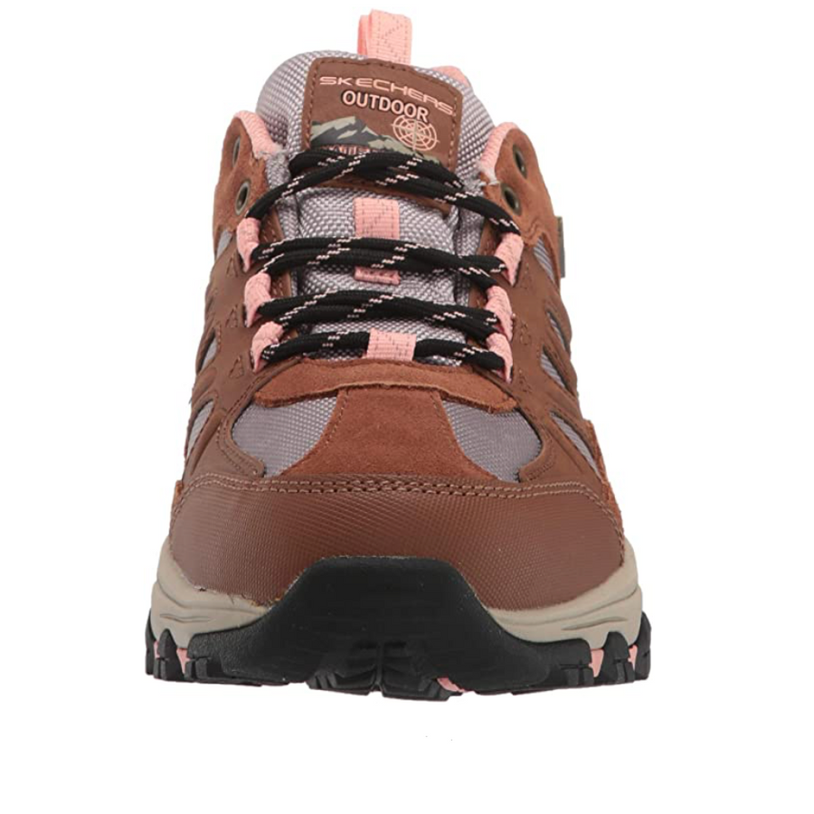 Skechers - West Highland Trainers - Brown / Light Coral