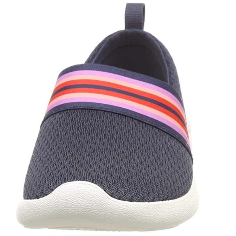 Crocs - Women's Literide Mesh Slip On - Navy / Colourblock