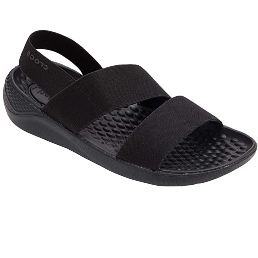 Crocs - Women's Literide Stretch Sandal Open Toe - Black