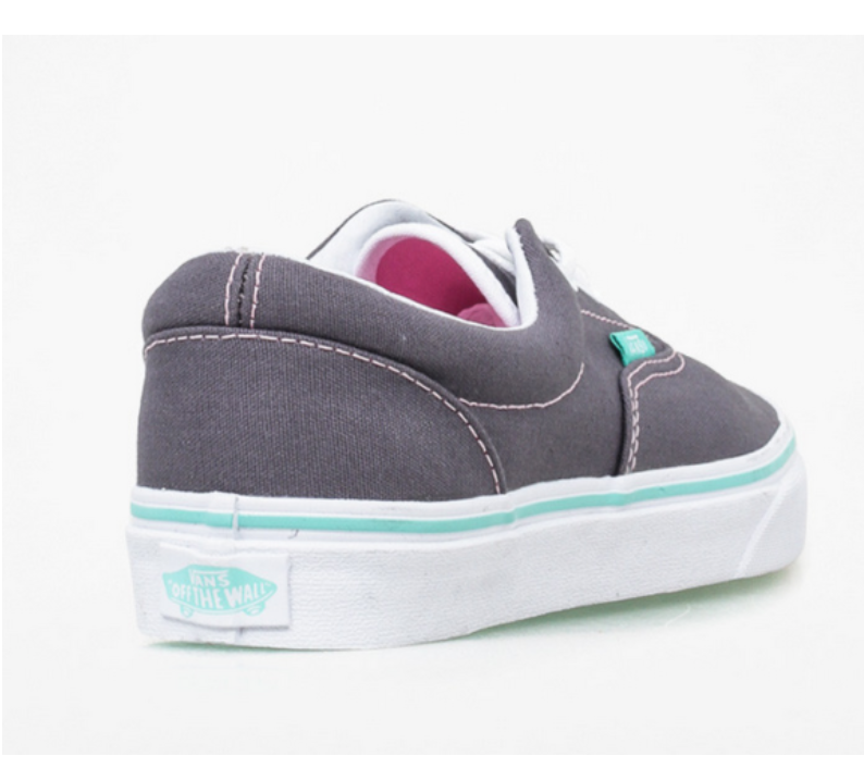 VANS - KIDS - ERA - GREY POP RABBIT PRISM PINK