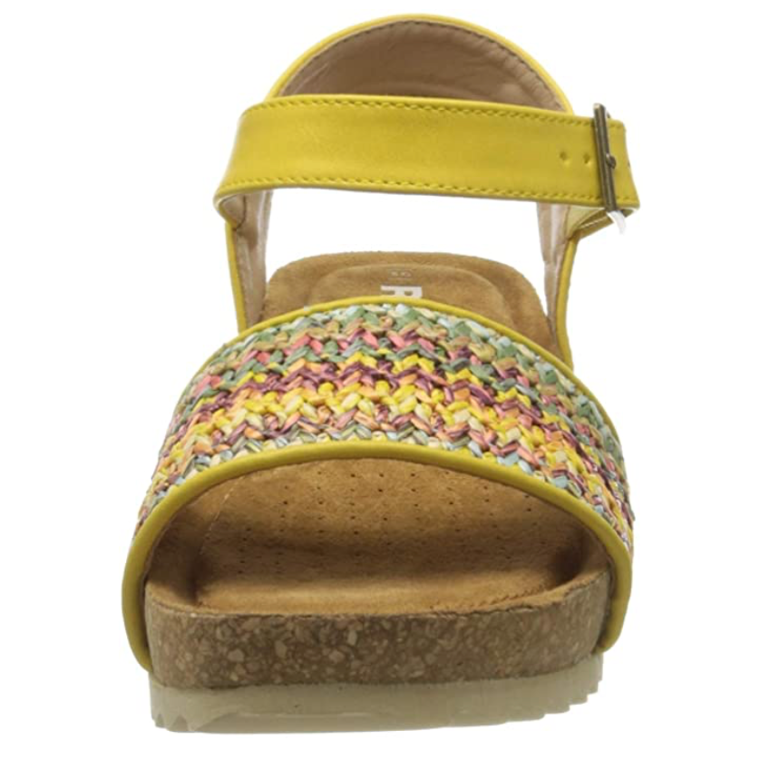 Refresh - 69610 - Yellow Pattern - Open Toe Sandal