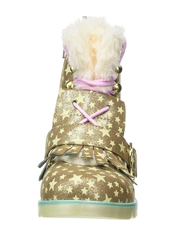 IRREGULAR CHOICE BABY STEP MAMA - GOLD