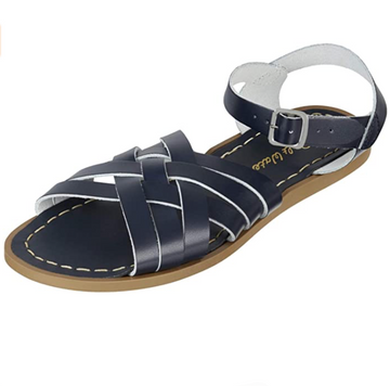 Salt Water Sandal - Retro - Navy - Waterproof Leather