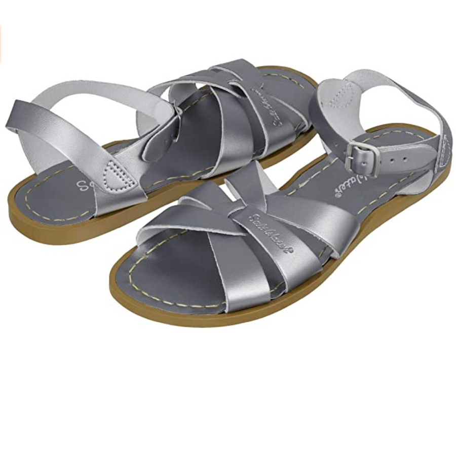 Salt Water Sandals - Original - Pewter - Waterproof Leather