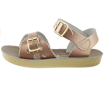 Salt Water Sandals - Kids - Sweetheart - Rose Gold