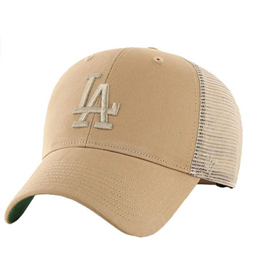 '47 Brand - MLB Los Angeles Dodgers - Adjustable Khaki Trucker Cap