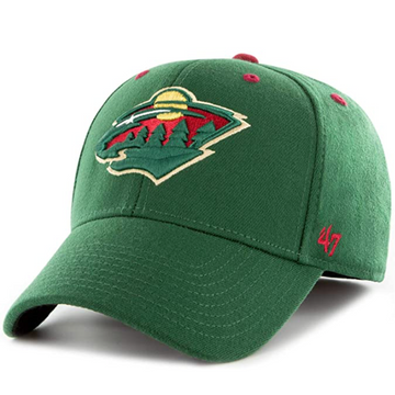 '47  Brand - NHL Minnesota Wild - One Size Fits All Stretch Cap