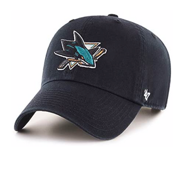 '47 Brand - NHL San Jose Sharks - Adjustable Black Cap