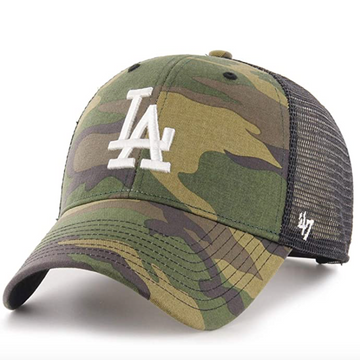 '47 Brand - MLB LA Angeles - Adjustable Camo Trucker Cap