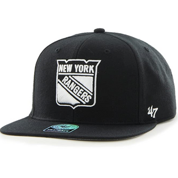 '47 Brand - NHL New York Rangers - Adjustable Black Snapback