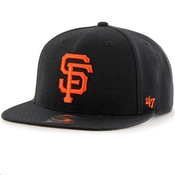 '47 Brand - MLB San Francisco Giants - Adjustable Black Snapback